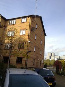 1 bed apartment in London Docklands.