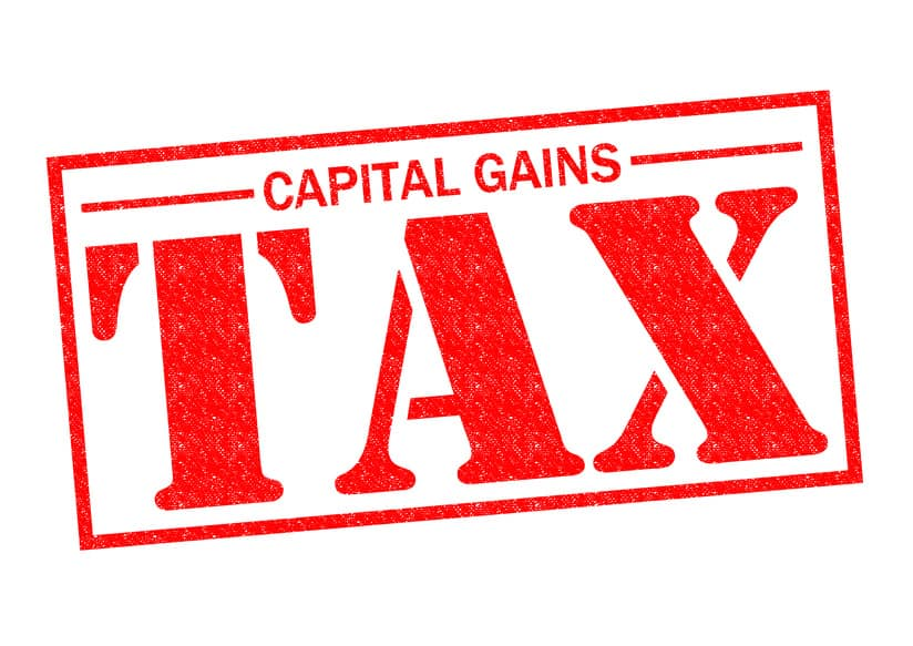 CAPITAL GAINS TAX bombshell for investors in April 2020?